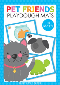 My Pets Playdough Mats
