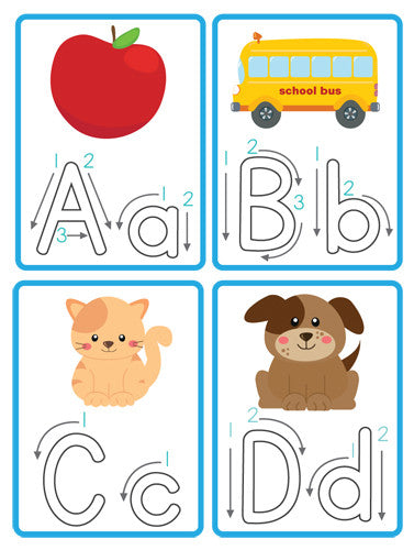 Alphabet Write & Wipe Cards