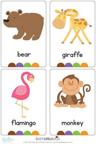 picture about Zoo Animal Flash Cards Free Printable referred to as Zoo Flash Playing cards