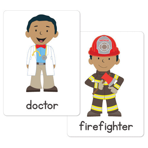 Community Helpers Flash Vocabulary Cards 40 Cards Automatic Download on Abc Chart Printable Kindergarten Worksheets