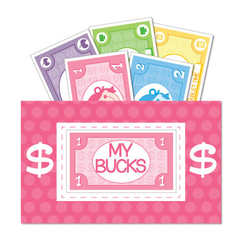 Girls Big Bucks Chore & Reward System