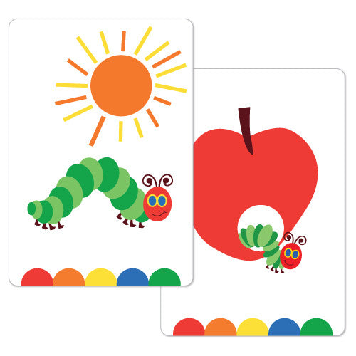 Happy Caterpillar Flash Cards