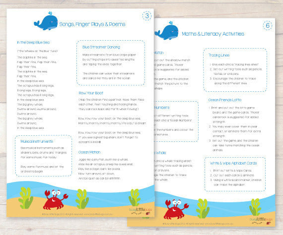 Ocean Animals Lesson Plans AUTOMATIC DOWNLOAD