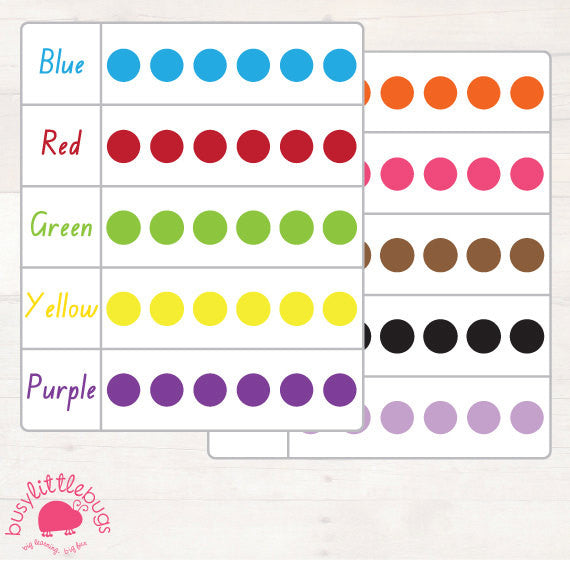 Pom Pom Colour Matching Game