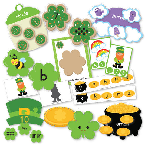 St Patrick's Day Preschool Pack