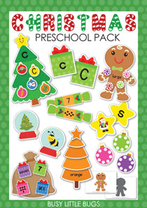Christmas Preschool Pack