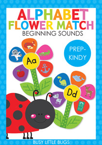 Alphabet Flower Match
