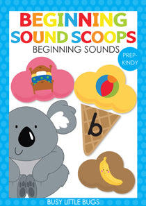 Beginning Sound Scoops