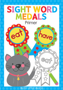 Sight Word Medals - Primer