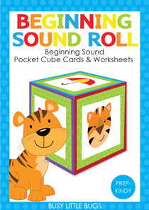 Roll & Learn -  Beginning Sounds