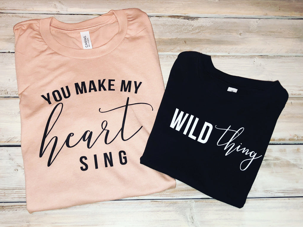 Wild Thing You Make My Heart Sing