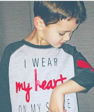 I Wear My Heart On My Sleeve raglan