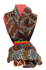 Scarf - Authentic Aboriginal Art