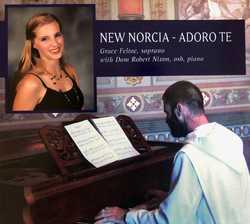 New Norcia - Adoro Te: music CD