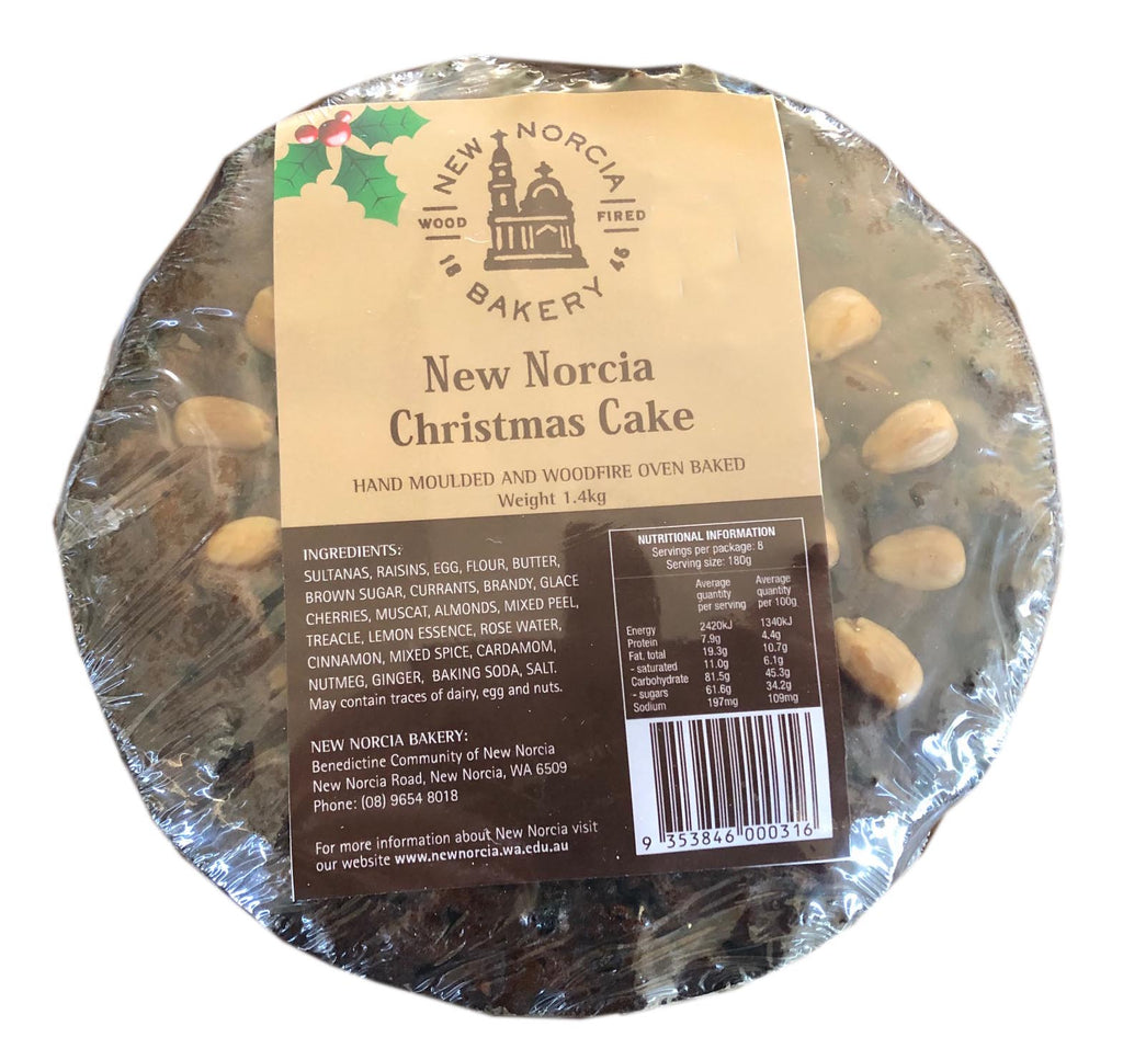 New Norcia Christmas Cake (availalbe prior to Christmas)
