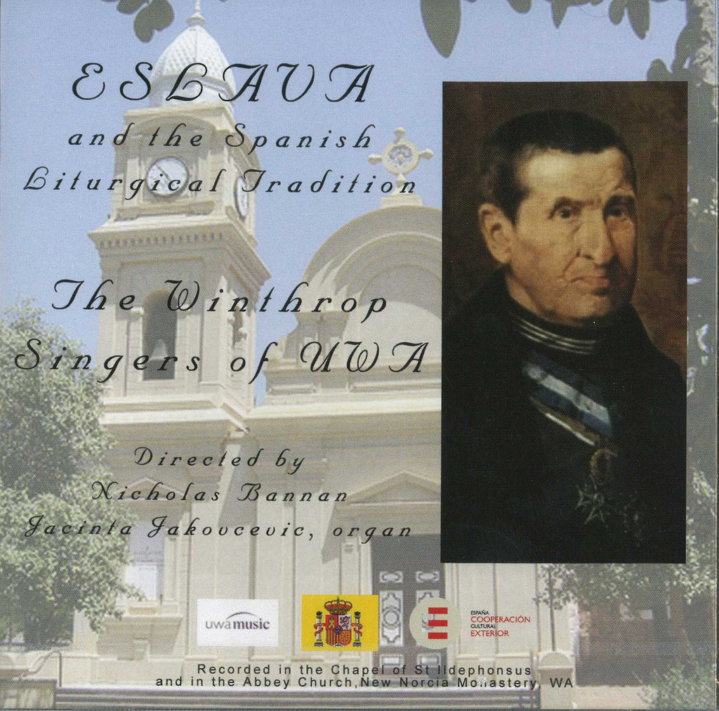 Eslava and the Spanish Liturgical Tradition: music CD