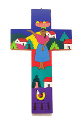 Handmade Folk Art Cross