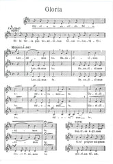 Abbey Press Notelet - Gloria Music
