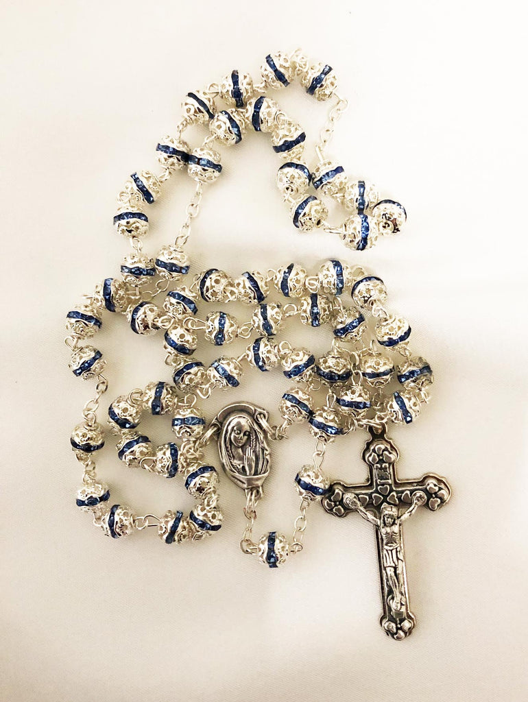 My Rosary - blue
