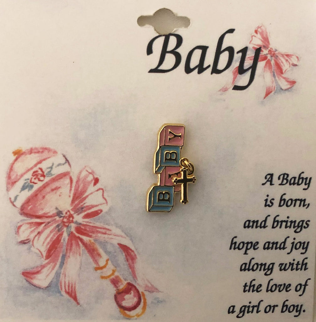 Lapel Pin Baby Angel