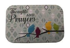 Tin Prayer Boxes, with Pencil and Pad