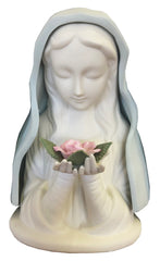 Blue Madonna Large Porcelain Ornament
