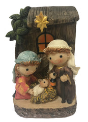 Kiddies Nativity Scene