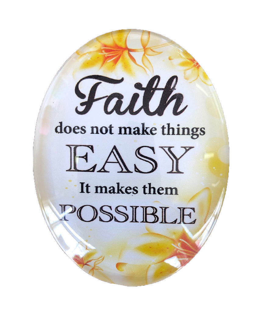 Resin Magnet: 'Faith'