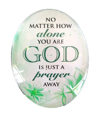 Resin Magnet: 'God is Just a Prayer Away'