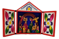 Peruvian Matchbox Nativity 110mm x 100mm