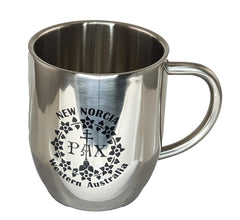 New Norcia Stainless Steel Mug