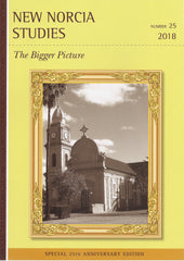 "2018 New Norcia Studies Journal ""The Bigger Picture"""