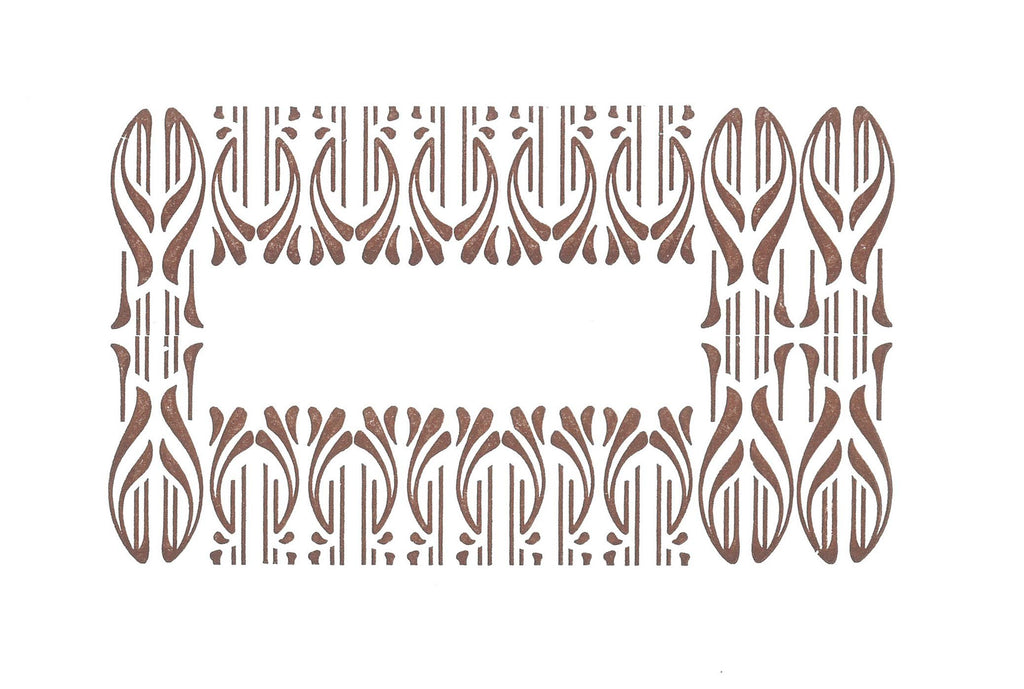 Abbey Press Notelet - Pattern