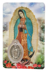 Prayer Card - Our Lady of Guadulupe