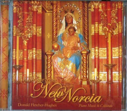 With Love from New Norcia - music CD