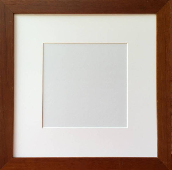 Verona Square Walnut Frame