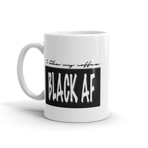 "The Moxie Shoppe ""Black AF Coffee Mug"""