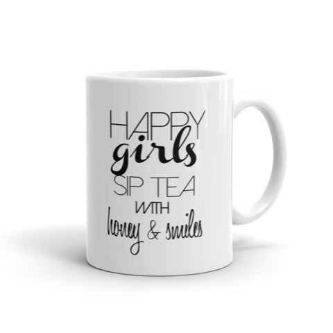 """Happy Girls"" Mug 