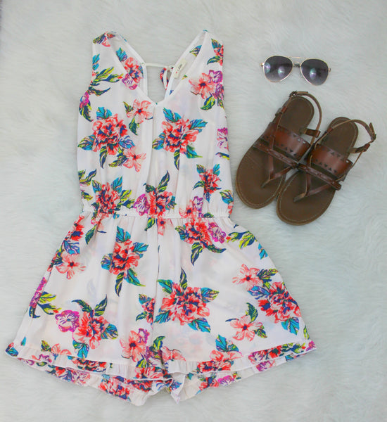 Tropical Dreams Romper