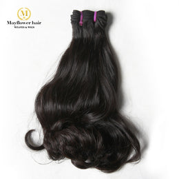 Mink Wavy Raw Indian Hair Weave