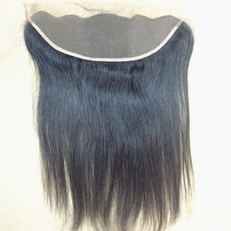"Indian Raw Hair Frontal Closure 13""X 4"""