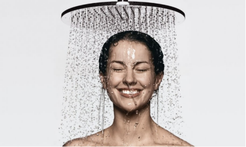 Showering Using A Filter