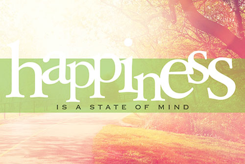HAPPINESS - A STATE OF MIND?