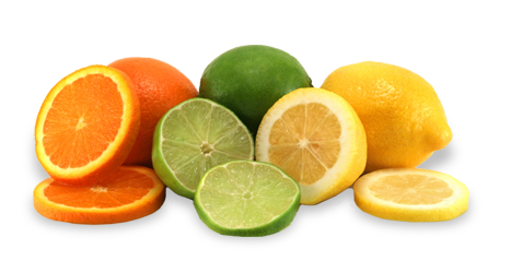 Range of Citrus Fruits