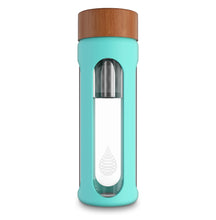 Load image into Gallery viewer, pH HYDRATE (Glass) Alkaline Water Bottle - Single wall