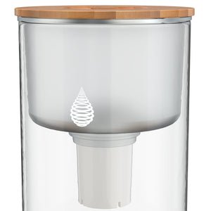 pH RECHARGE (Glass) Countertop Alkaline Water Filter logo