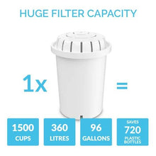Load image into Gallery viewer, PH001 Filter 3-Pack + PH002 UF Membrane Filter useage
