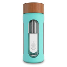 Load image into Gallery viewer, pH HYDRATE (Glass) Alkaline Water Bottle - Double wall