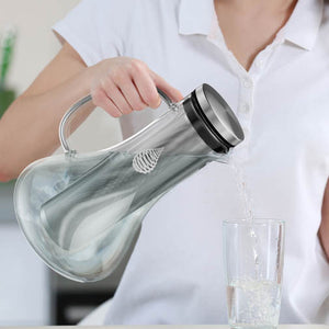 pH REPLENISH Glass Alkaline Water Pitcher