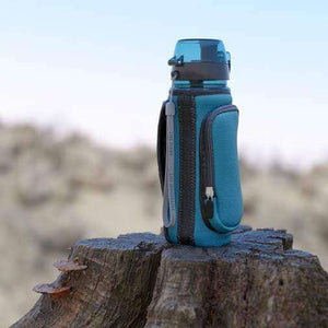 pH REVIVE Alkaline Water Bottle on wood